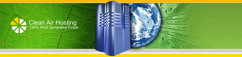 Green Web Hosting by Clean Air